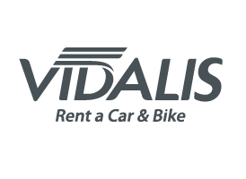 vidalis rent a car logo